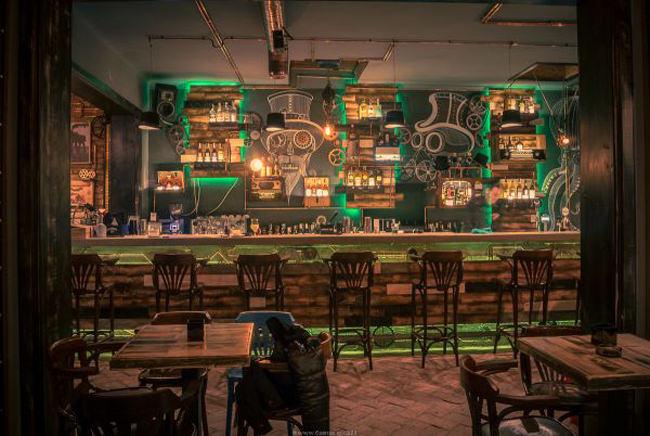 steampunk pub romania