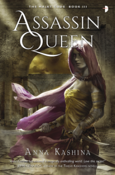 netgalley assassin queen