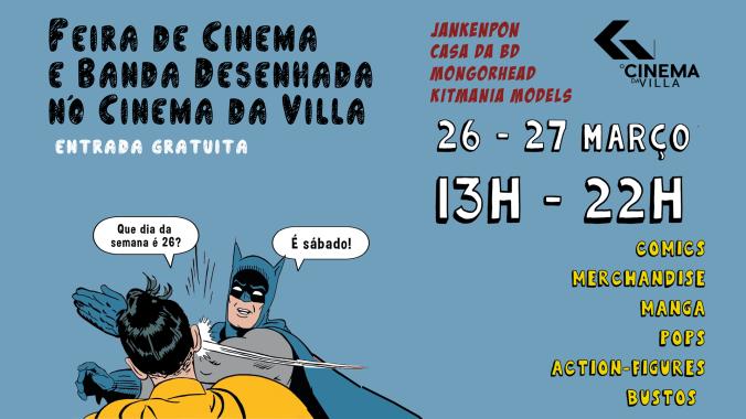 feira de cinema de BD