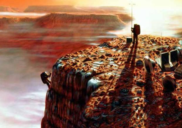 os marcianos