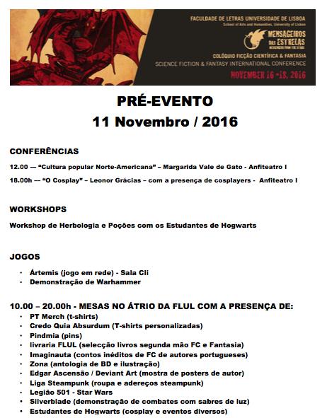 pre-evento